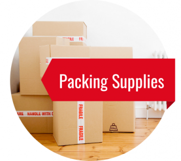 Packing supplies available for your next move with Moving Kings
